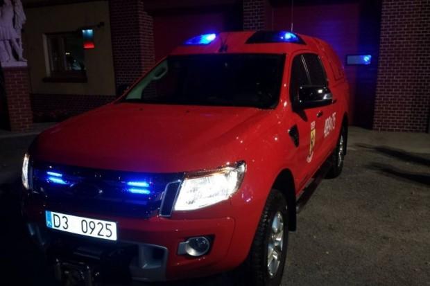 Nowy wóz dla strażaków ze Ścinawy