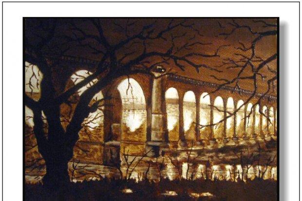 Obrazy kawą malowane w BOK-MCC