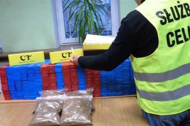 Nielegalny tytoń warty 8 tys. zł na bazarze