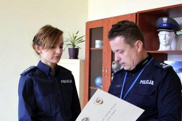 Pożegnanie ze służbą i pracą w Komendzie Miejskiej Policji w Jeleniej Górze