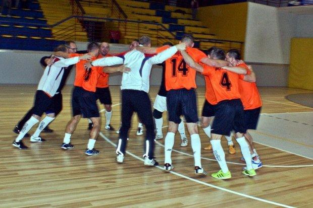 Pancerniacy ze złotem w futsalu