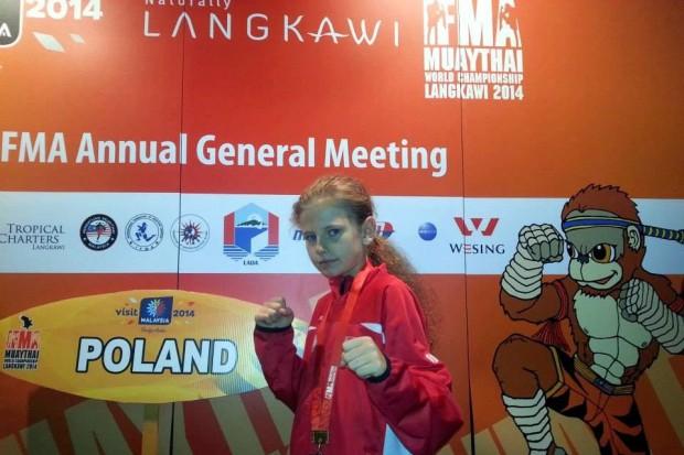 Oliwia Ziembikiewicz mistrzynią Starego Kontynentu