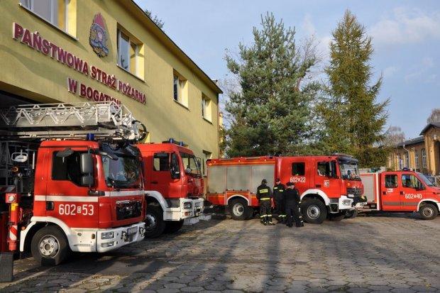 Nowy pojazd dla bogatyńskich strażaków