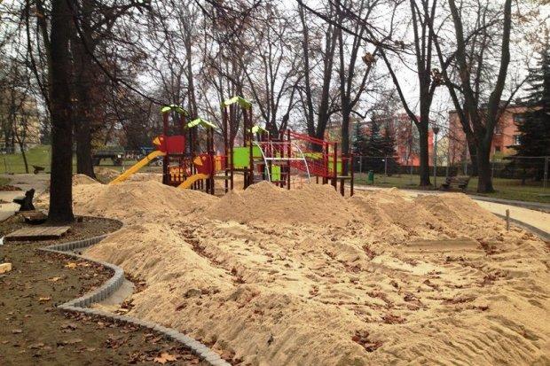 Będzie kilka stref rekreacji w parku