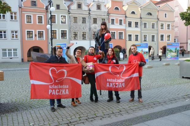 Marsz wolontariuszy Szlachetnej Paczki w Legnicy w tę sobotę