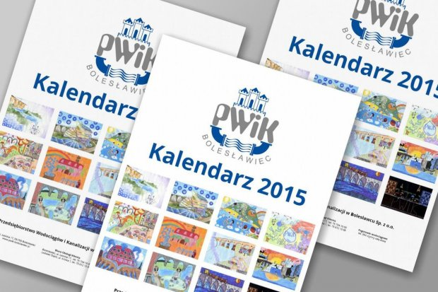 W prezencie kalendarz PWiK z pracami młodych bolesławian