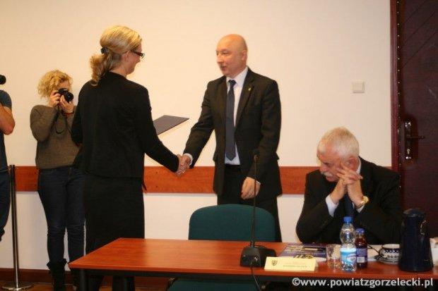 Artur Bieliński ponownie starostą