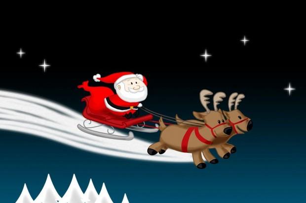 """Święty Mikołaj w """"Stodole"""""""