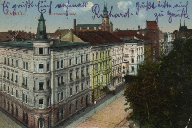 Dawna Legnica: ul. Chojnowska