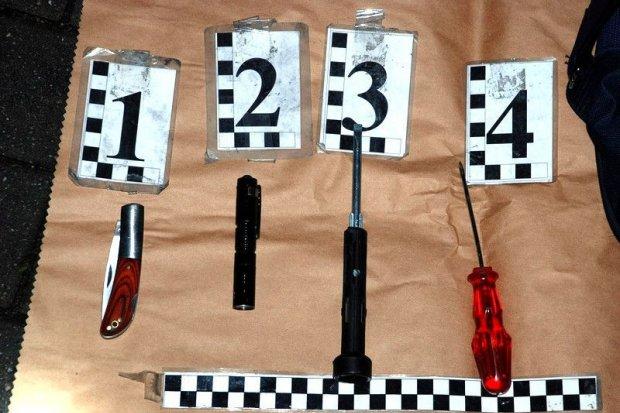 Międzynarodowy gang przecinaczy opon zatrzymany pod Legnicą