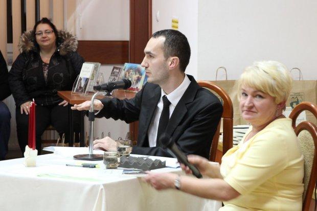 Promocja książki Sebastiana Zielonki
