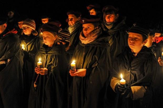 Betlejemskie Światło Pokoju w Lubinie