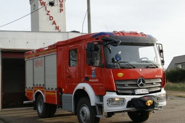 Nowy wóz strażacki dla OSP w Gwizdanowie