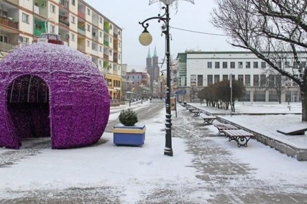 Prawdziwa zima w Legnicy