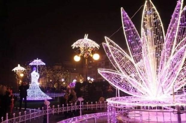 Legnica ma najpiękniejsze iluminacje świąteczne