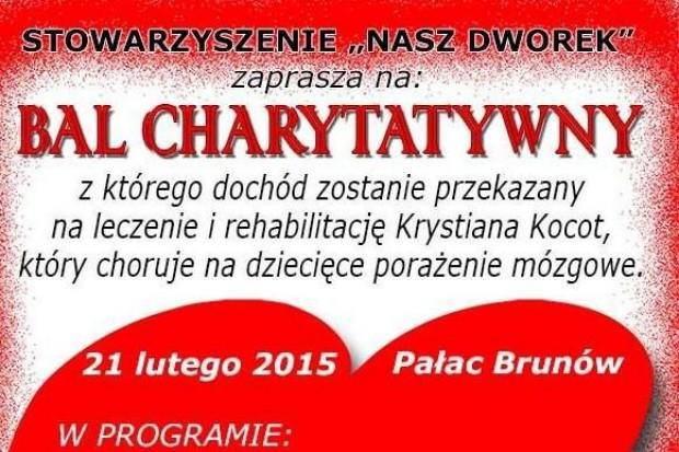Bal charytatywny dla Krystiana Kocota