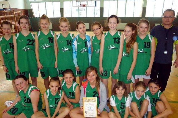 Koszykarki z Nowogrodźca w finale strefowym