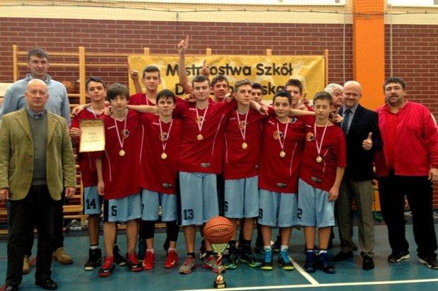 Koszykarze z GS nr 1 mistrzami województwa