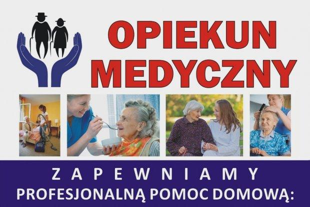 Opiekun medyczny - profesjonalna pomoc w domu pacjenta