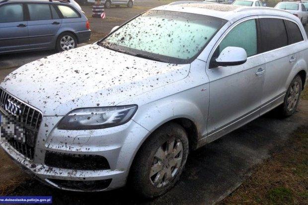 Odzyskali luksusowe auto, warte ponad 30 tysięcy euro