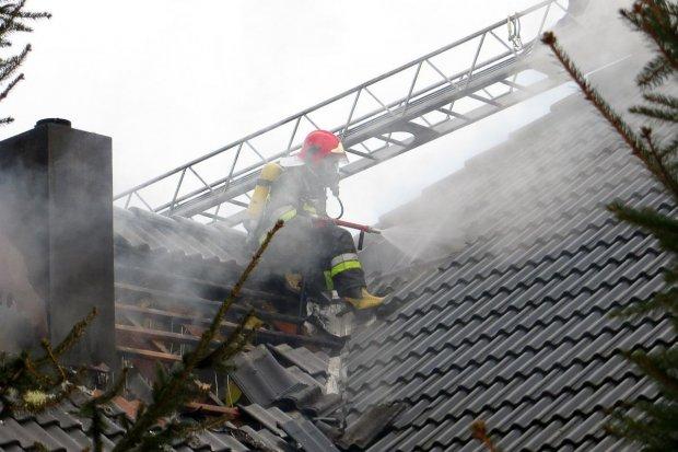 Pożary w Tomaszowie i Bolesławcu