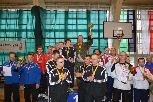 Bolesławieccy artylerzyści najlepsi w tenisie stołowym