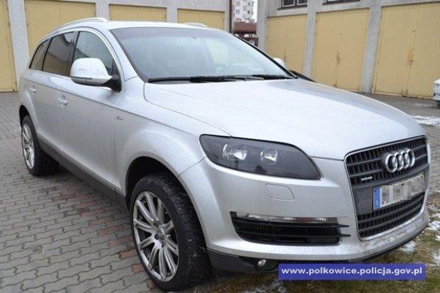 Odzyskali auto warte ponad 112 tys. zł