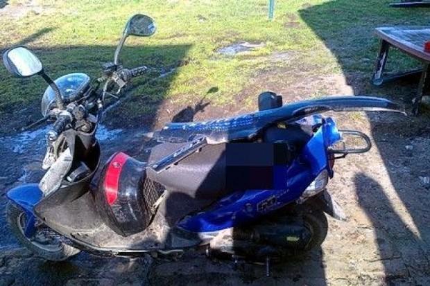 Ukradł koledze skuter warty 1000 zł