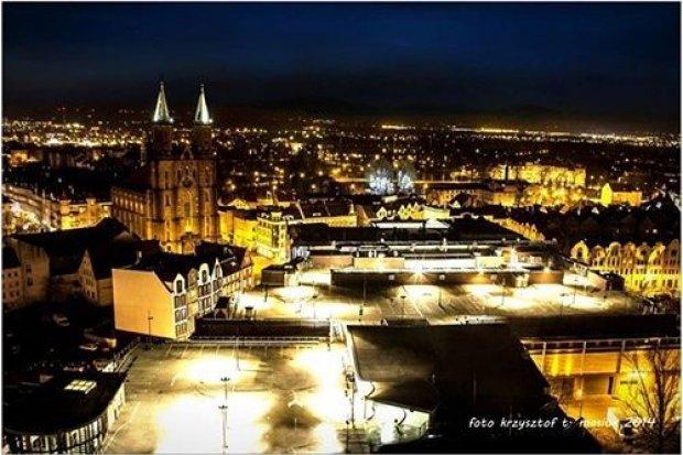 Zakochaj się w Legnicy nocą