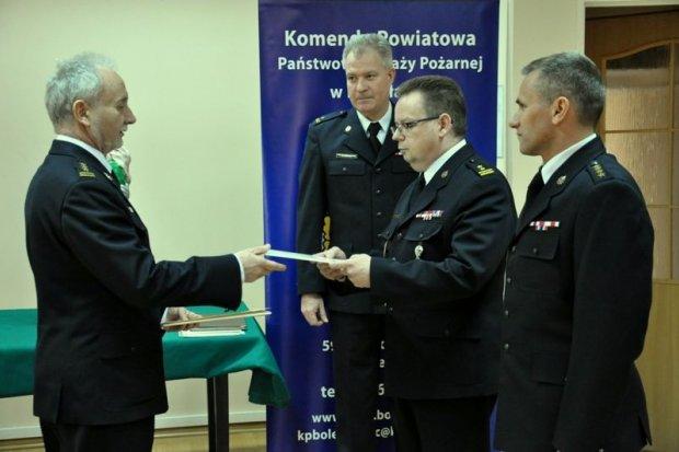 Nowy zastępca komendanta straży pożarnej