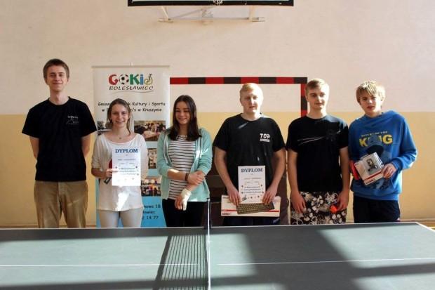 Znamy najlepszych tenisistów stołowych w gminie