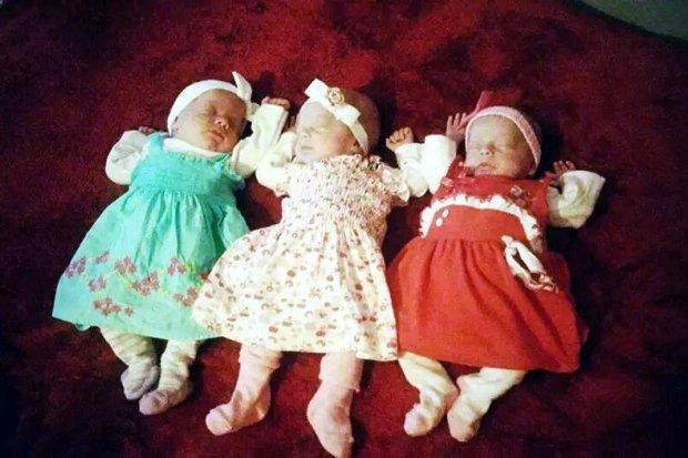 Ada, Julia i Nikola – bolesławieckie trojaczki