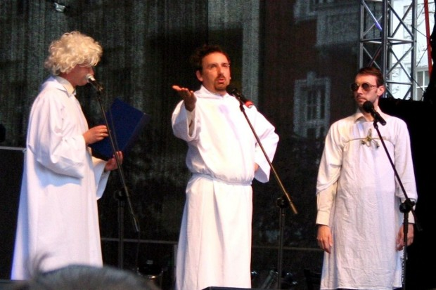 Neo-Nówka i Maria Czubaszek w Bogatyni