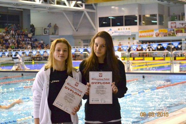 Udany występ pływaczek UKS Oxpress w Mistrzostwach Polski