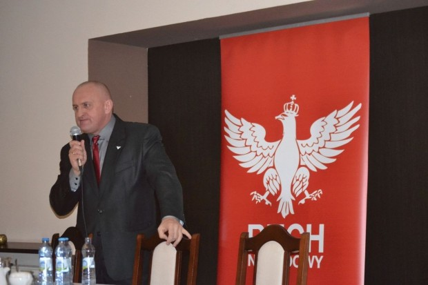 Kandydat Ruchu Narodowego na prezydenta RP w Lubinie