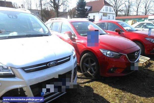 Trzebień: policja odzyskała 6 kradzionych aut o wartości 430 tys. zł