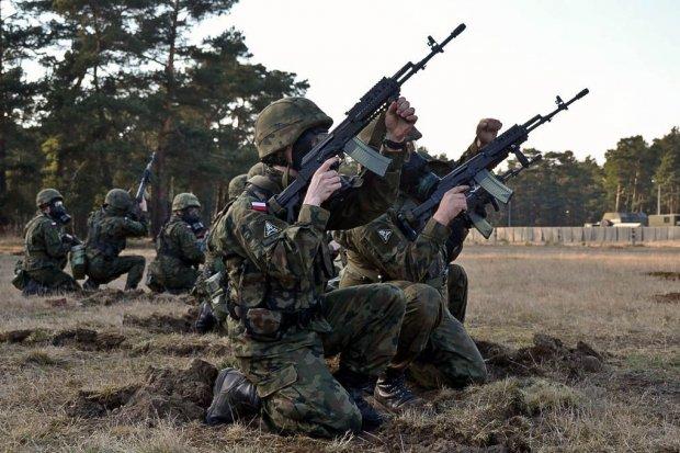 Trening sztabowy artylerzystów