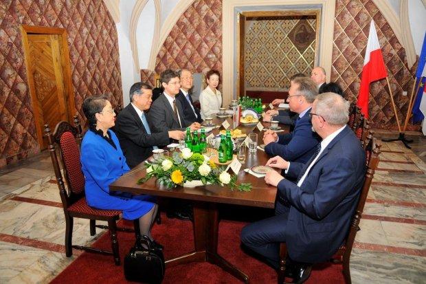 Ambasador Japonii w Bolesławcu