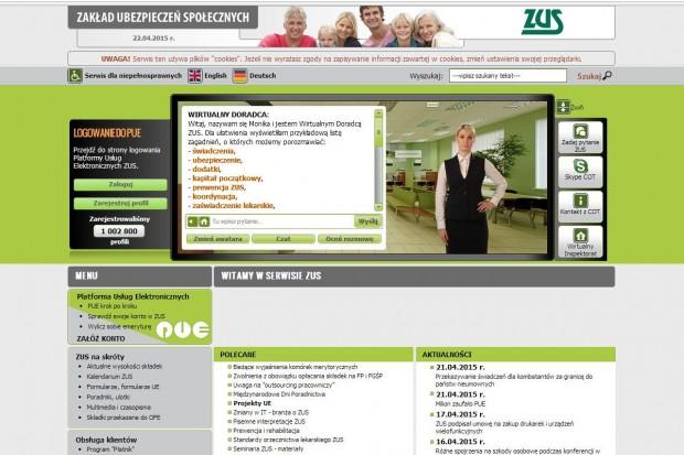Jaka emerytura? Ponad milion użytkowników zaufało Platformie ZUS-u