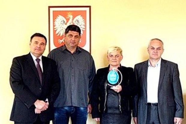 Przedstawiciele gminy Srbac w Nowogrodźcu
