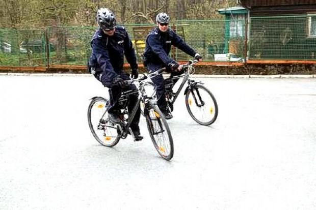 Policyjne patrole rowerowe