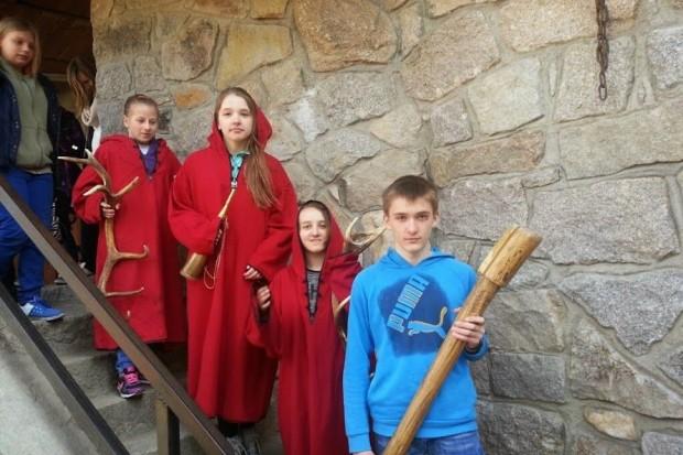 Uczniowie z Kruszyna na obozie naukowym