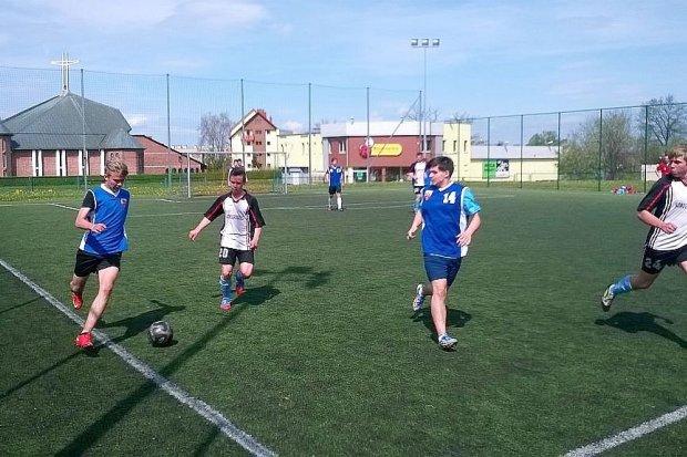 Gimnazjum nr 1 mistrzem powiatu w piłce nożnej