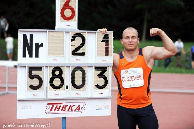 Olszewski z minimum na Mistrzostwa Europy!