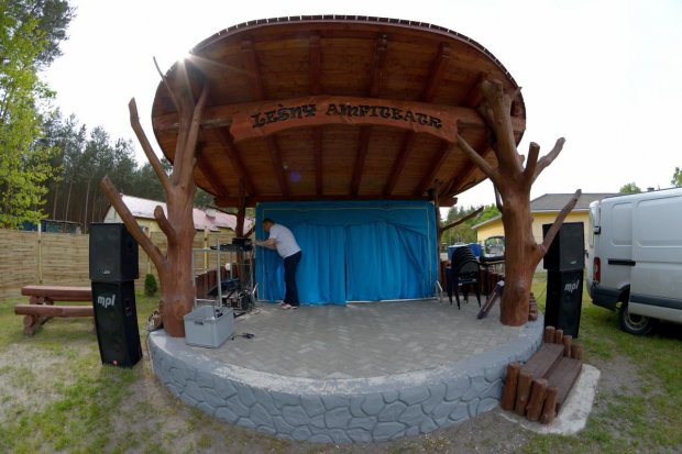 Leśny Amfiteatr otwarty