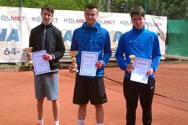 Nicolas Twardowski wicemistrzem Dolnego Śląska w tenisie ziemnym