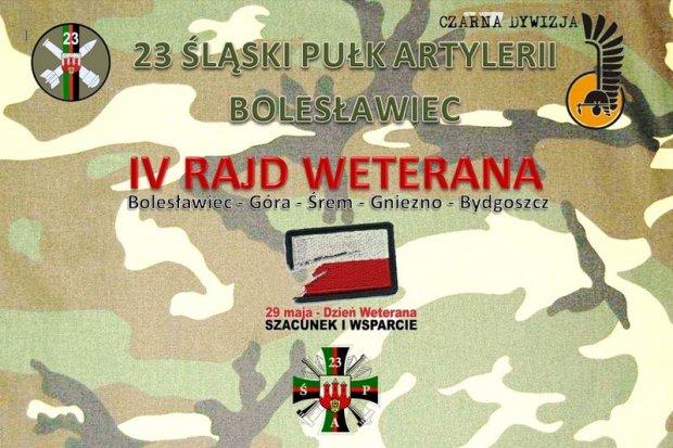 Żołnierze 23 Śląskiego Pułku Artylerii wezmą udział w 4 edycji Rajdu Rowerowego Weterana