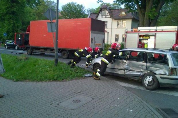Wypadek na Jeleniogórskiej