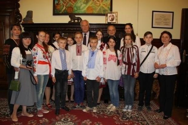 Dzieci z Ukrainy wypoczywają w Legnicy
