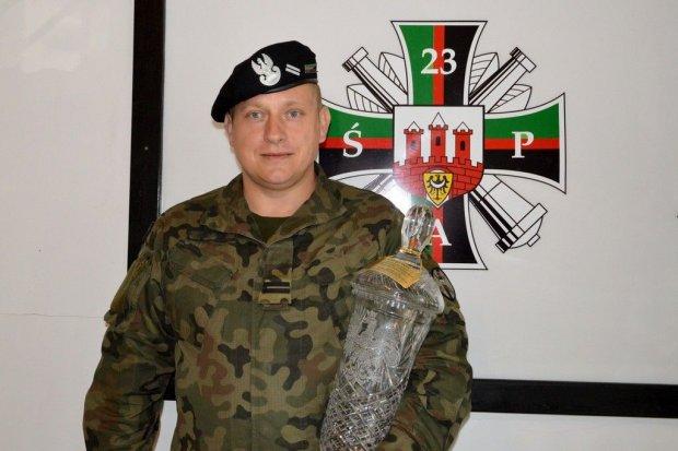 Strzelecki sukces weterana 23 Śląskiego Pułku Artylerii